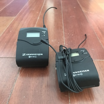 Rent Sennheiser Wireless Lav mic Receiver/Transmitter-EW 100