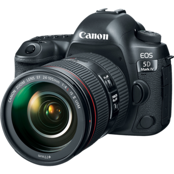 Rent Canon EOS 5D Mark IV + Canon EF 24-70mm f/2.8L II USM Lens