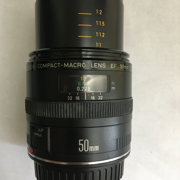Rent Canon Compact Macro Lens EF 50mm 1:25