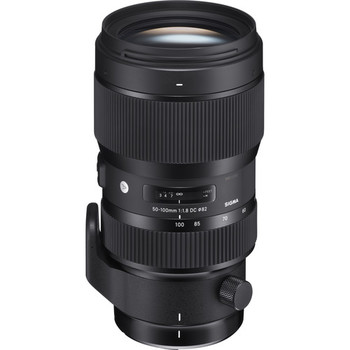 Rent Sigma 50-100 f/1.8 Art: An optically superior, very fast lens for interviews or portrait photography.