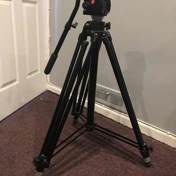 Rent Manfrotto 503HDV Head with 028B Tripod