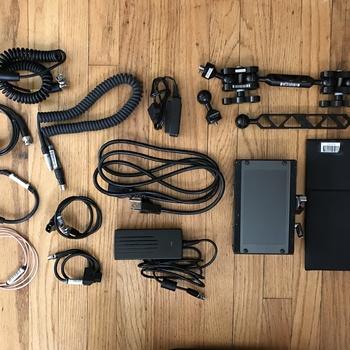 """Rent TV Logic VFM-058 5.5"""" 1080p SDI/HDMI monitor kit"""