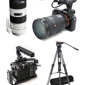 Rent Sony A7SII Event Shooter Kit