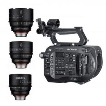 Rent FS7 XDCAM 4K - Cine Lens Kit