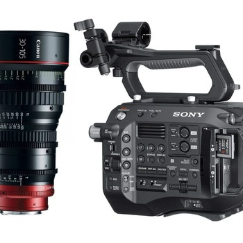 Rent Sony PXW FS7II XDCAM 4K Cine Zoom Kit