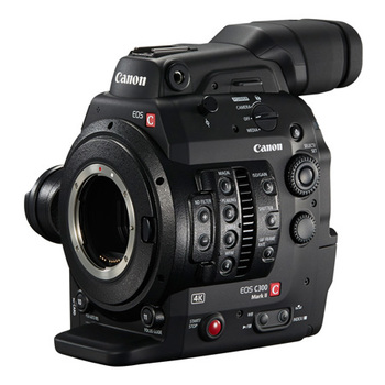 Rent Canon EOS Digital Cinema Camera C300 Mark II