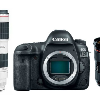 Rent Canon EOS 5D Mark IV Camera Double Kit