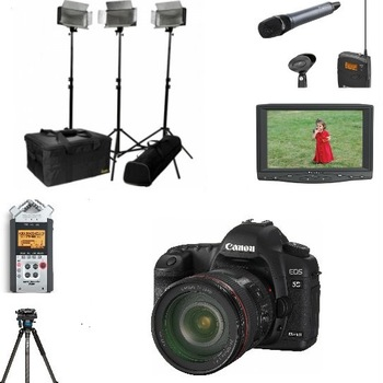 Rent Canon 5D Mark III - Complete Interview Package Basic