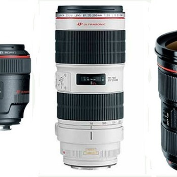 Rent Canon Wedding Pro Lens Package