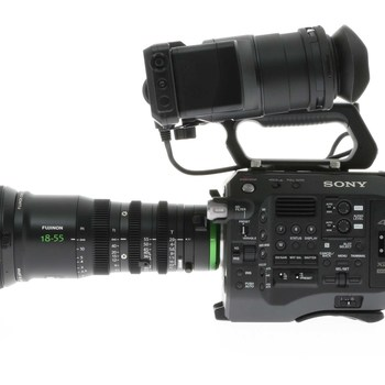 Rent Sony PXW FS7 4K + Fujinon MK18-55mm T2.9 Cinema Zoom Lens Kit
