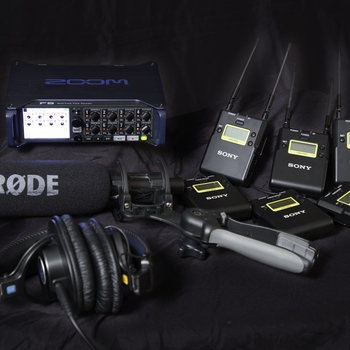Rent Zoom F8, NTG3 Shotgun, and Lavs Audio Package