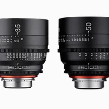 Rent Rokinon Xeen Cinema Canon EF Mount - 4 Lens Package