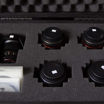 Rent  Rokinon 16, 24, 35, 50, 85mm Cine DS Lens Bundle for Canon EF Mount