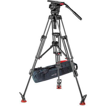 Rent Sachtler Video 18 S2 Fluid Head and Manfrotto 3-Stage Video