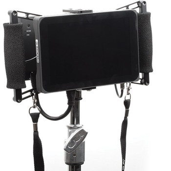 """Rent Director's Monitor: SmallHD 702 Bright 7"""" w/ Wooden Camera Cage"""