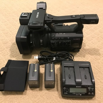 Rent Sony Proffesional 4K Camcorder Kit