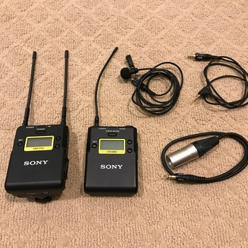 Rent Sony UWP-D11 Integrated Digital Wireless Bodypack Lavalier Microphone System (UHF Channels 14/25: 470 to 542 MHz)