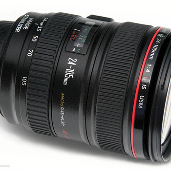 Rent 24-105mm IS Macro Lens with polarizer, UV and ND filters | Ideal for documentary or running & gunning work