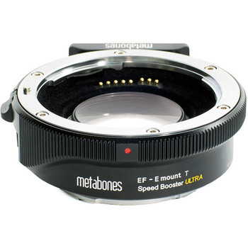 Rent Metabones Speed Booster Ultra Adapter for Canon Full-Frame EF-Mount Lens to Sony E-Mount APS-C Camera