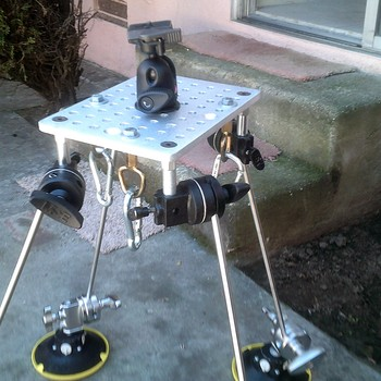 Rent Automobile / Marine / Aircraft camera mounting system