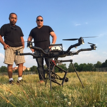 Rent FreeFly Alta Heavy Lift Drone With Two Controllers Batteries and Pilot. Lift any Camera upto 12 lbs