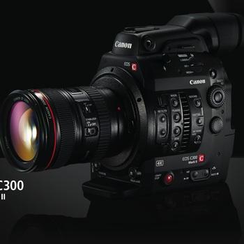 Rent Canon C300 MKii EF