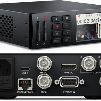 Rent Blackmagic HyperDeck Mini 4K Recorder
