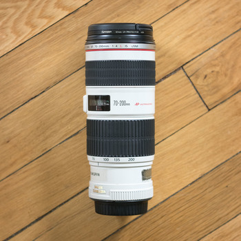 Rent Canon EF 70-200mm f/4L IS USM Lens
