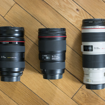 Rent Canon L 3 Lens Kit