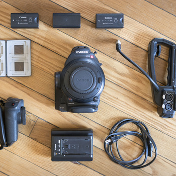 Rent Canon C100 w/ Cards and Extra Batteries