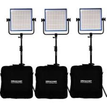 Rent Dracast 1000 LED Plus Bi-color 3 light kit