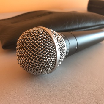 Rent Shure SM58 Cardioid Dynamic Vocal Microphone