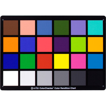 Rent X-Rite ColorChecker Classic Card