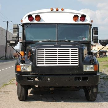 Rent Production Bus with Driver