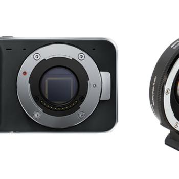 Rent Blackmagic Pocket Cinema Camera + Metabones Speedbooster