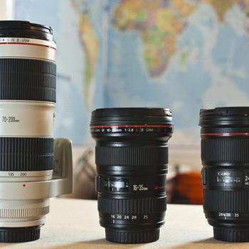 Rent Canon L Series Zoom Lens Kit (16-35, 24-70, 70-200)