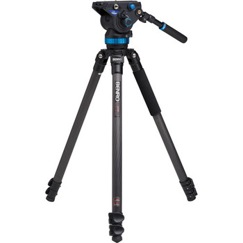 Rent Benro S8 Pro Video Head and A3573F Series 3 AL Tripod