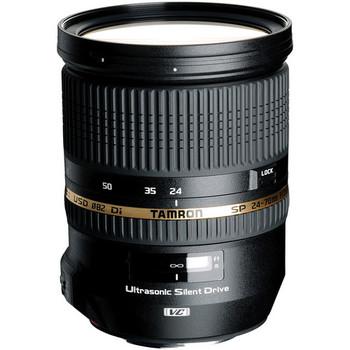 Rent Tamron SP 24-70mm Di VC USD Canon Mount (A007E) (includes UV Filter)