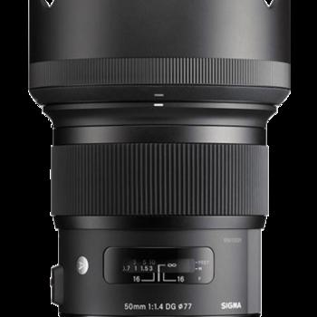 Rent Sigma 50mm f/1.4 ART -  EF Mount