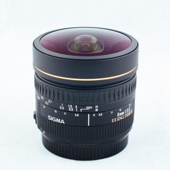 Rent SIGMA 8mm f/3.5 Fisheye EF Mount