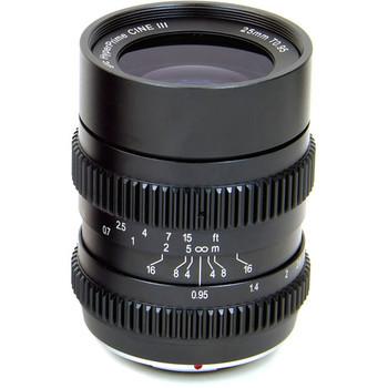 Rent SLR Magic HyperPrime Cine II 25mm T0.95 Lens with MFT Mount