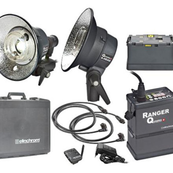 Rent Elinchrom Ranger Quadra RX HIGH SPEED 400w/s 2-Action Light Heads