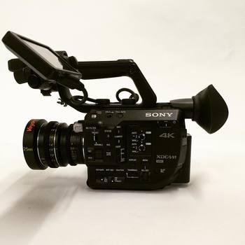 Rent Sony FS5 with RAW unlock