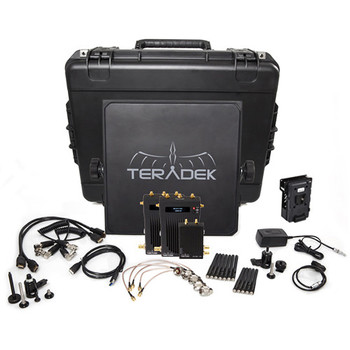 Rent Teradek Bolt 1000 SDI/HDMI Wireless Transmitter & Dual Receiver Deluxe Kit