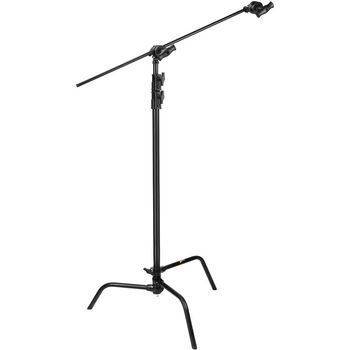 Rent Impact Black C-Stand with Sliding Leg