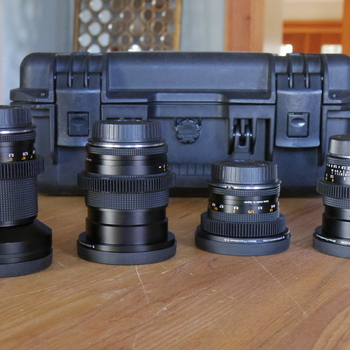 Rent Contax Zeiss Prime Cine-Mod set - EF mount