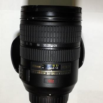 Rent Nikon AF-S Nikkor 24-120mm 1:3.5-5.6G VR Lens