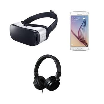 Rent Samsung Gear VR + Galaxy S6 phone