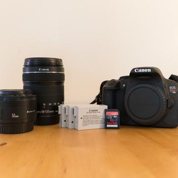 Rent Canon EOS Rebel T4i