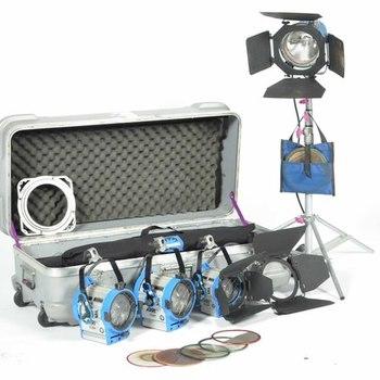 Rent Arri 4 Lamp Kit: 1k open / 2x 650 / 300 / Chimera Softbox